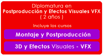 Diplomatura en Postproducción Digital y Efectos Visuales - VFX de Cine en Septima Ars Madrid
