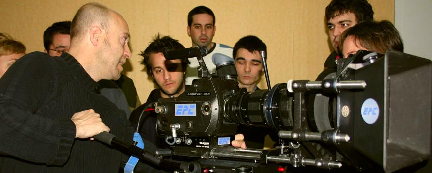 Qué profesores tiene la Escuela Internacional de Cine y Televisión Septima Ars de Madrid
