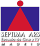 Logo de la Escuela Superior   Internacional de Cine y Televisión de Madrid Septima Ars