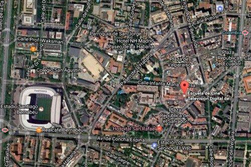 Estudia Cine y Televisión en el Centro de Madrid en la Escuela Septima Ars Madrid - España