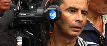 Carlos Días imparte cursos de cámara y reportero ENG en la Escuela de Cine Septima Ars