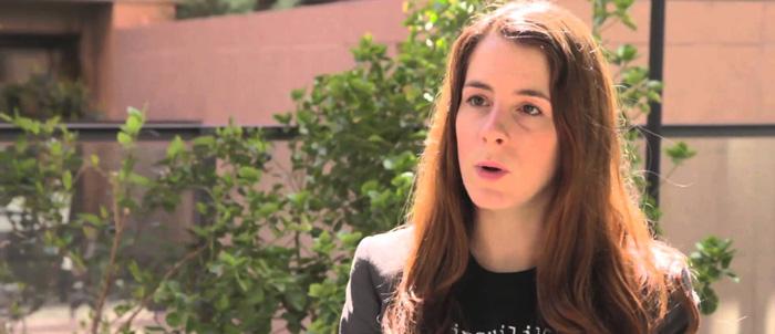 Inés de León Estudió Cine en la Escuela Septima Ars