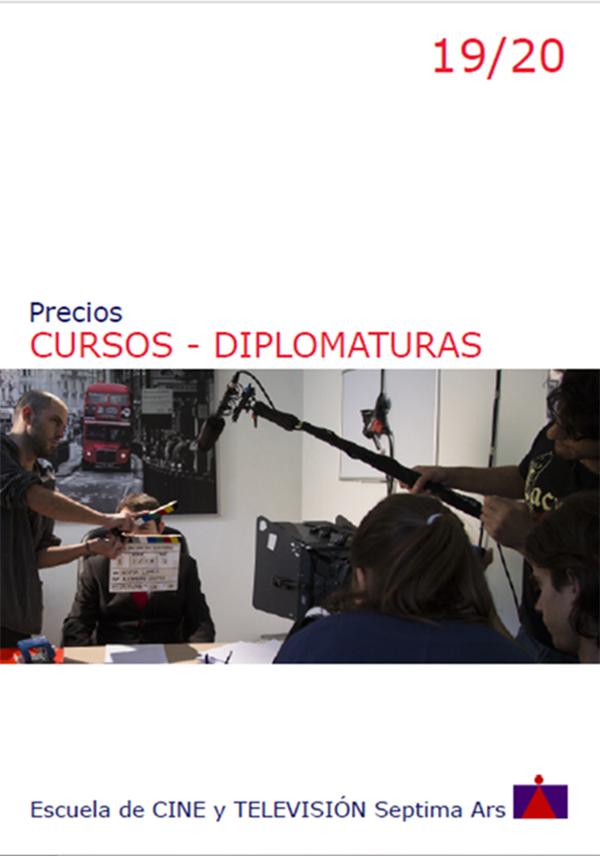 Precios y Financiación de la Escuela de Cine y TV Septima Ars