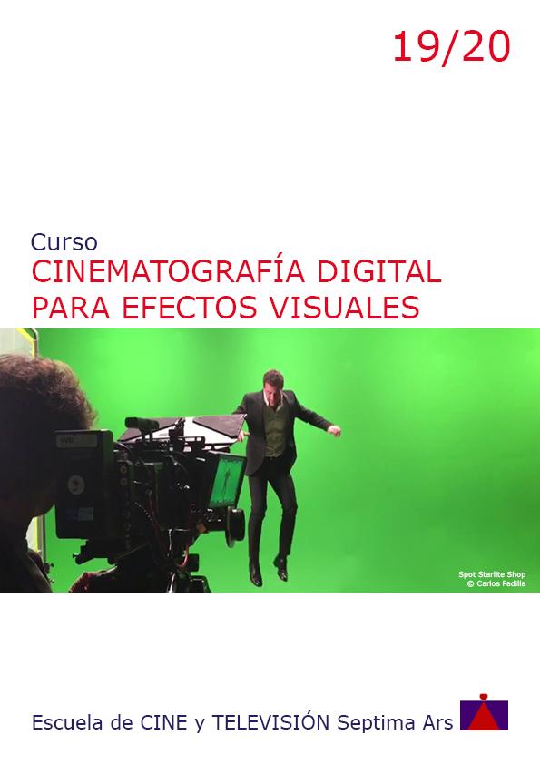 Curso de Cine digital y Efectos Especiales de la Escuela de Cine y TV Septima Ars de Madrid