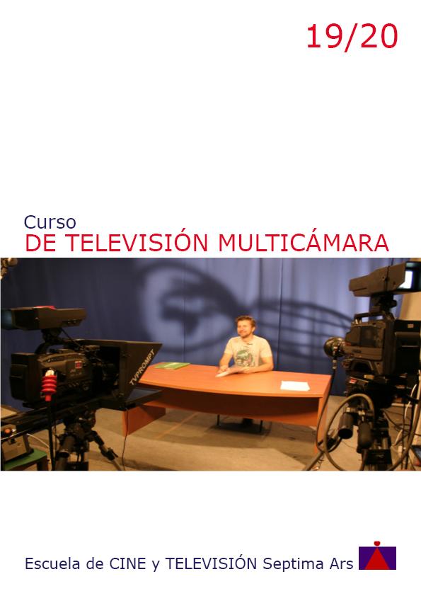 Curso de Realización de Televisión en Directo en la Escuela de Cine y TV Setpima Ars de Madrid