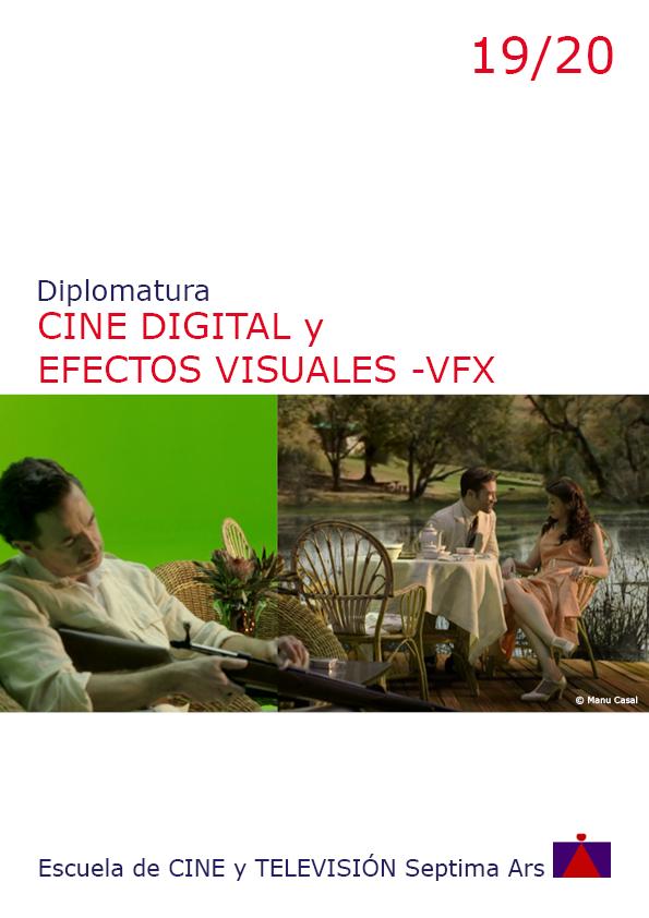 Diplomatura en Cine digital y Efectos Especiales de la Escuela de Cine y TV Septima Ars de Madrid