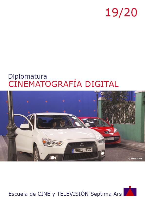 Diplomatura en Cine Digital para Efectos Especiales Visuales FX de la Escuela de Cine y TV Septima Ars de Madrid