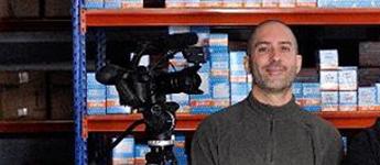 Director de Fotografía y Operador de Cámara Raúl Peña