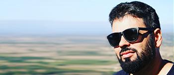Luis Murillo es profesor de Guión Cinematográfico en la escuela de Cine Septima Ars