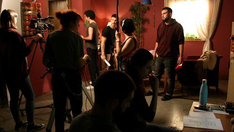 Rodaje de la Webserie como práctica del Curso de la Escuela de Cine y TV Septima Ars