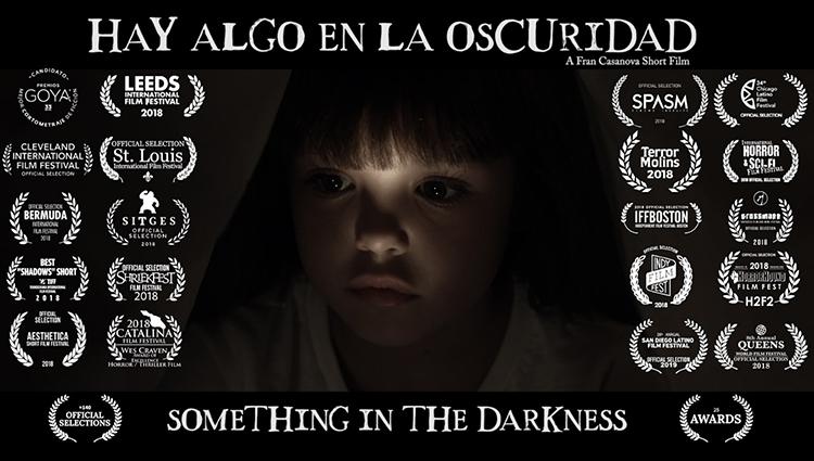 Cortometraje HAY ALGO EN LA OSCURIDAD coproducido por la escuela de cine Septima Ars