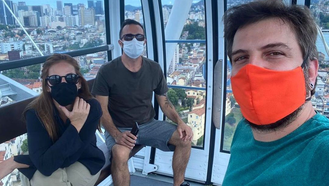 Rodaje Ana, Fernando y Kaue