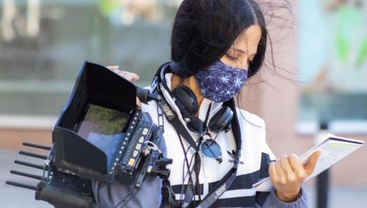 Beatriz Abad estudió cine en la Escuela Septima Ars