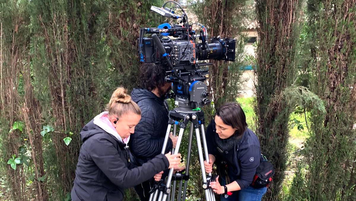 Natalia Ruiz estudió en la escuela de Cine Septima Ars