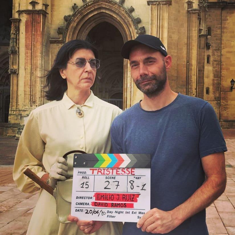 David Ramos estudió dirección de fotografía en la escuela de cine Septima Ars
