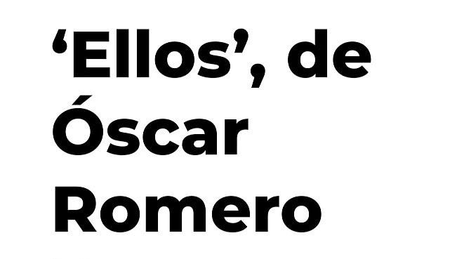Óscar Romero estudio cine en la escuela Septima Ars